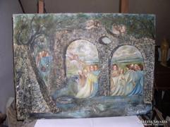 Harsonázó és romok közt táncoló angyalok, Lehoczky József