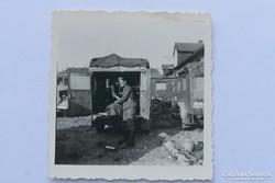 SS katona Phänomen Granit 25H Kfz.31 járműnél