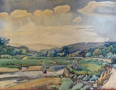 Bálin József : Vladivostokból c. festménye
