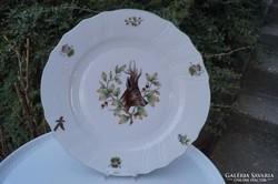 Herendi vadászos lapos tányér