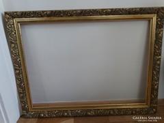 Aranyozott képkeret, 80 x 60 cm, vágható