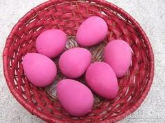 Húsvéti festett tojás -nem törik