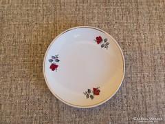 Gránit rózsás süteményes tányér