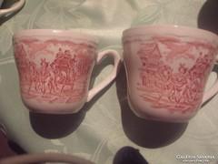 Csodaszép angol teás csésze 2 darab