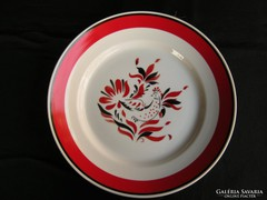 Hollóházi porcelán dísztál dísztányér tányér