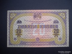Somorja 20 korona 1916