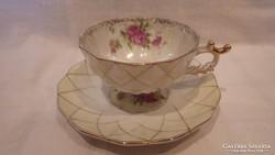 Gyűjteményes porcelán csésze + alj