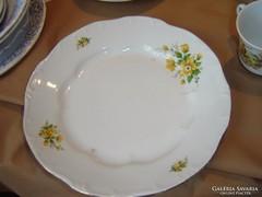 Zsolnay lapos tányér 2 darab