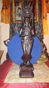APSARA faszobor Cambodiából, 51 cm