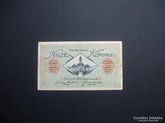 Szeged 20 korona pénztárjegy 1918