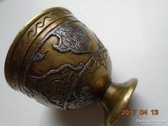 MAMLUK ZARF-perzsa-iszlám-ezüstberakásos-kávés pohár tartó-4