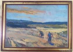 Somogyi János Munkácsi díjas festő festménye