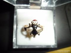 Mórfejes aranygyűrű