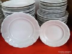 Zsolnay tányér 12db hiánypótlásra