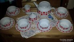 Alföldi retro teás készlet