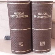RETRO VIDEOTON MUSICAL ENCYCLOPAEDIA HANGSZÓRÓ PÁR BARNA