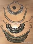 Ékszer csomag nyakékek kleopátrák+ gyűrű