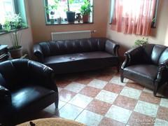 Antik ülőgarnitúra,két fotel kanapé.