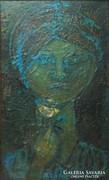 0L338 Ismeretlen festő : Kék arc cca 1930