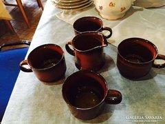 RITKA Goebel kávés készlet 4 személyes