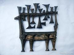 Kopcsányi Ottó  bronz Szarvas