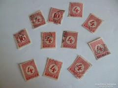9.Portóbélyegek 1929