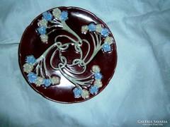 Antik majolika tányér