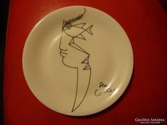 Limoges Jean Cocteau tányér.