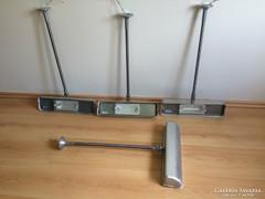 Ipari loft fém lámpa 4db industrial fémbúrás