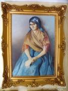 Kassai Varga festmény