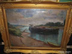 Sass Árpád festmény