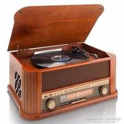 Nosztalgia lemezjátszó, rádió, CD,