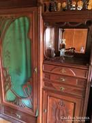 Antik,szecessziós szekrény