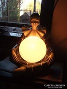 Pierrot-Art deco asztali lámpa Unikum !
