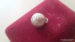 Ezüst foci labda medál 925