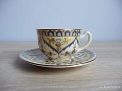 Zsolnay perzsa mintás kávéscsésze és alj