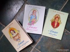3 könyv az Anne sorozatból egyben