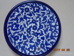 6 db-Kézzel festett-TAMIMI-HEBRON-Kobaltkék arabeszk tálka