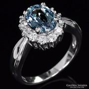 Gyűrű eredeti Alexandrit drágakővel 2,7 ct !!!