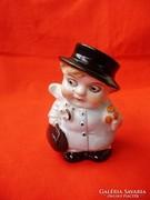 Lippelsdorf porcelán kisfiú alakú borsszóró