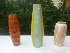 Zománc és kerámia-GRÁNIT váza.