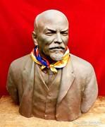 Lenin szobor Óriási 83 cm. magas, súlya 25 kg.