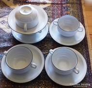 5 személyes két fülű teázó