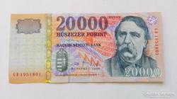 2008 évi, 20.000.-Ft-os bankjegy ,