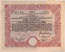 Pénztárjegy 10.000 Korona