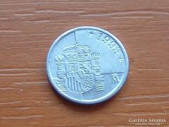 SPANYOL 1 PESETA 1995 KICSI