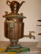 Fejedelmi bronz 60 cm 5,5 kg szamovár kuriózum