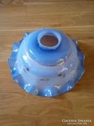 Kézzel festett kék konyhai lámpabúra