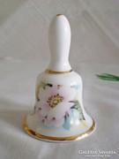 Jelzett angol porcelán csengő kínai virág mintával