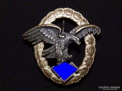 Német 2.VH Légi megfigyelő jelvény Assmann